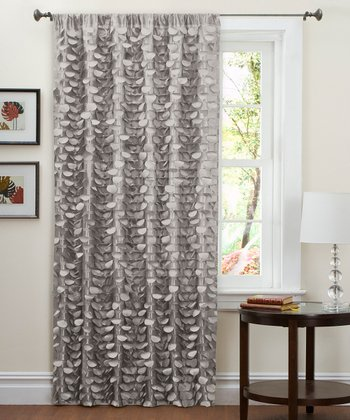 Gray Lillian Curtain Panel