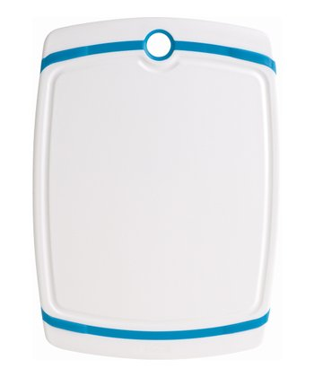 White & Blue Cutting Board