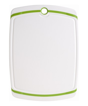 White & Green Cutting Board