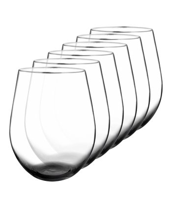 True Fabrications Stemless Glass - Set of Six