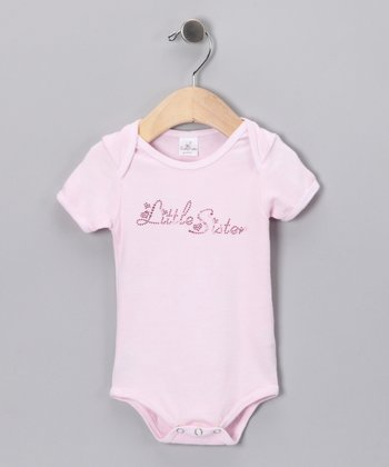 Pink 'Little Sister' Bodysuit