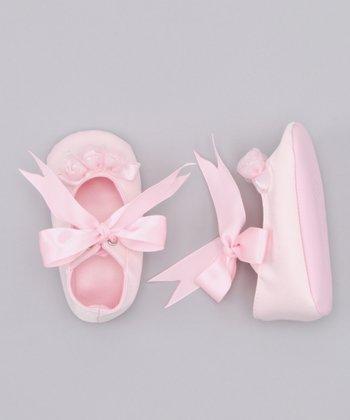 Truffles Ruffles Pink Rose Mary Jane