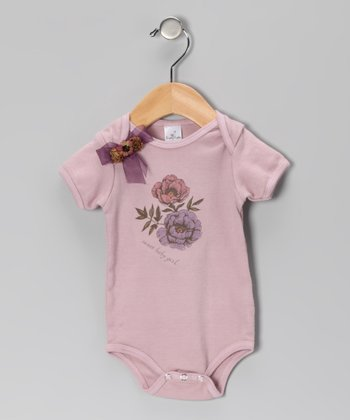 Dusty Plum 'Sweet Baby Girl' Bodysuit
