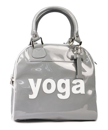 Gray 'Yoga' Satchel