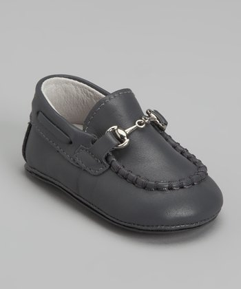 Pewter Buckle Loafer