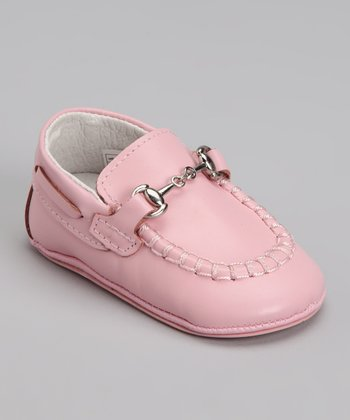 Pink Buckle Loafer