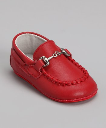 Red Buckle Loafer