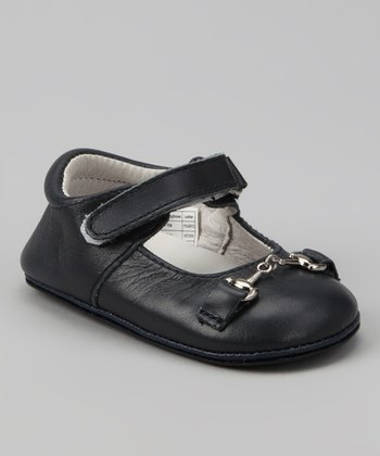 Dark Navy Buckle Mary Jane