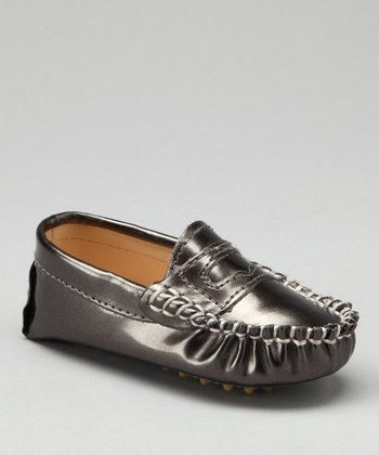 Pewter Metallic Moccasin