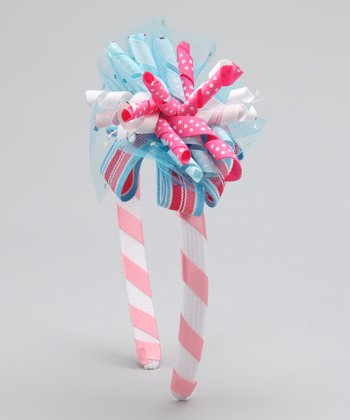 Pink & Blue Bubblegum Beauty Korker Headband