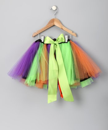 Scaredy Cat Bow Tutu