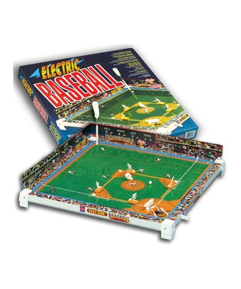 Tru-Action Electric Baseball Game