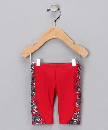 Red Jammer Shorts - Infant, Toddler & Boys