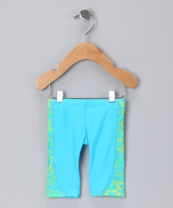 Global Green Jammers Swim Shorts - Toddler