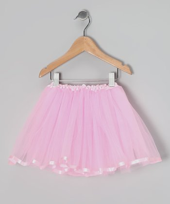 Pink Ribbon Tutu - Toddler & Girls