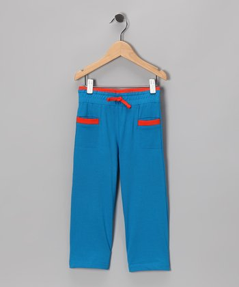 Blue & Orange Pants - Infant & Toddler
