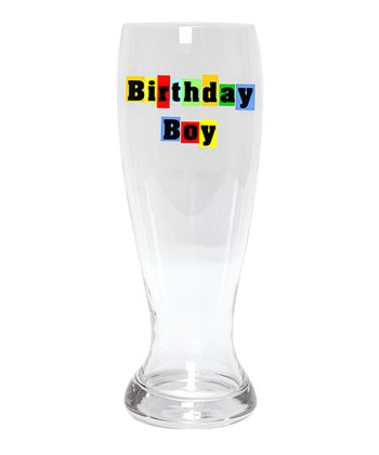 'Birthday Boy' 54-Oz. Pilsner Glass