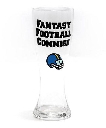 'Fantasy Football Commish' 24-Oz. Pilsner Glass