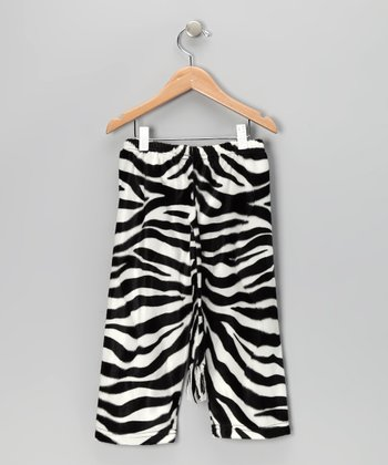Zebra Tail Pants - Toddler & Kids