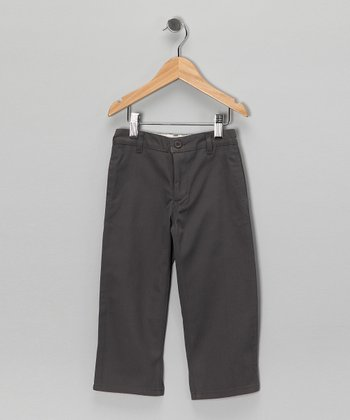 True Gray Organic Pants - Toddler