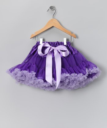 Purple Pettiskirt - Toddler & Girls