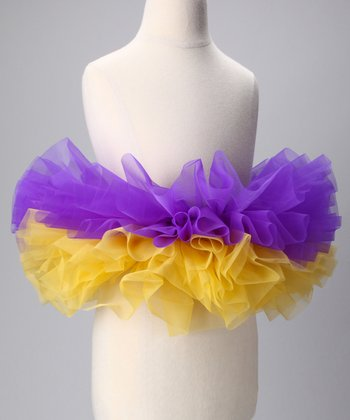 Purple & Gold Tutu