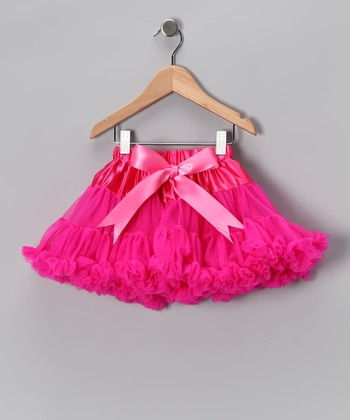 Hot Pink Pettiskirt - Toddler & Girls