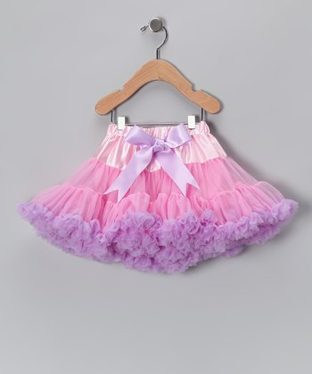 Pink & Lavendar Pettiskirt - Toddler & Girls