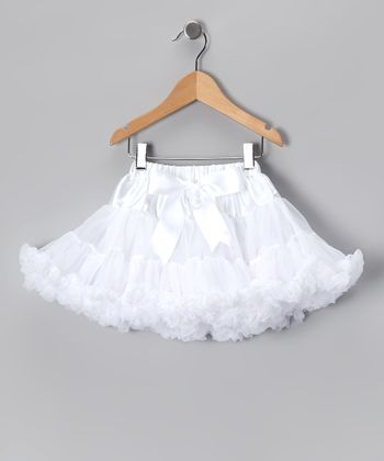 White Pettiskirt - Infant, Toddler & Girls