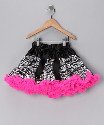 Zebra Pettiskirt - Toddler & Girls