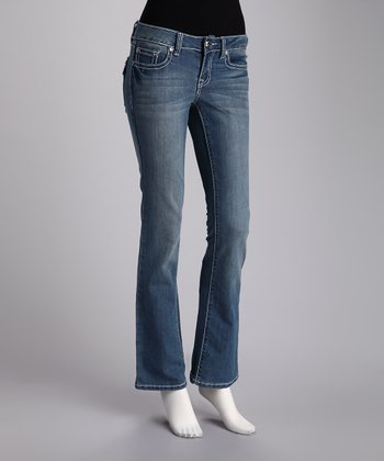 Twelve R Light Blue Bootcut Jeans