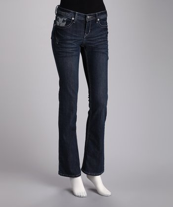 Twelve R Denim Blue Bootcut Jeans