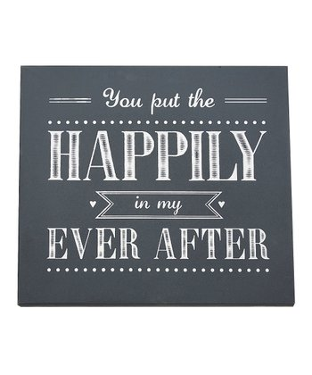 'You Put the Happily' Wall Art