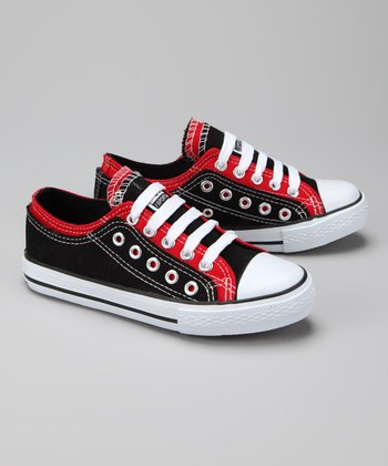 Twin Cities Shoe Co. Black & Red Sneaker