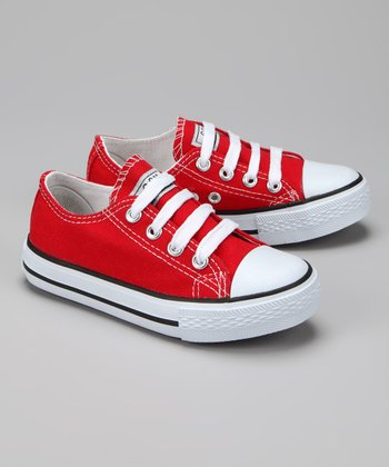 Twin Cities Shoe Co. Red Sneaker