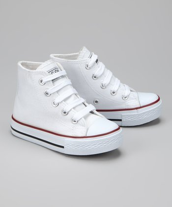 Twin Cities Shoe Co. White Hi-Top Sneaker