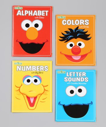 Sesame Street Early Learning Paperback Set
