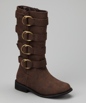 Two Lips Shoe Company Brown Jaguar Boot