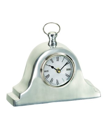 Aluminum Mantel Pocket Watch Standing Clock