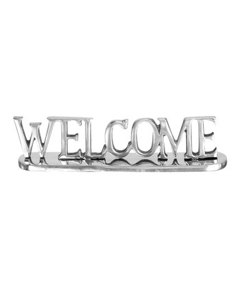 'Welcome' Word Stand