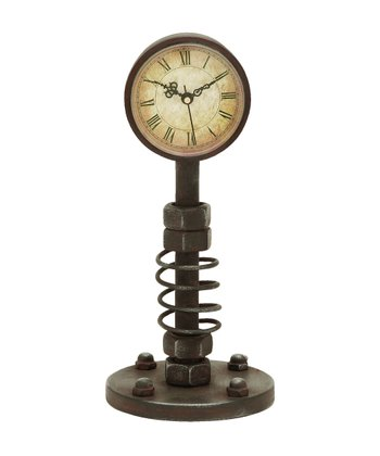 Medium Standing Metal Clock