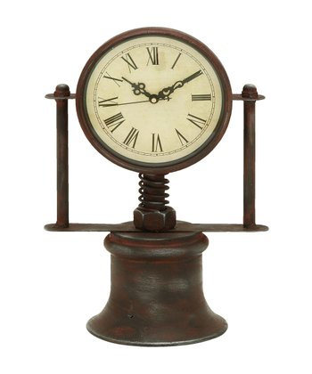 Large Standing Metal Clock