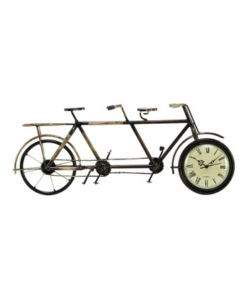 Tandem Bicycle Standing Clock