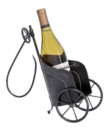 Black Chariot Wine Holder