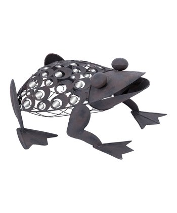 Metal Mirrored Frog