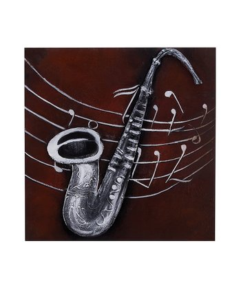 Saxophone Canvas