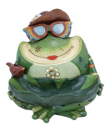 Frog Birdbath