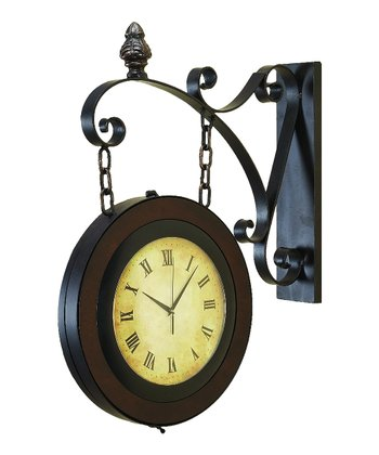 Chain Side Wall Clock