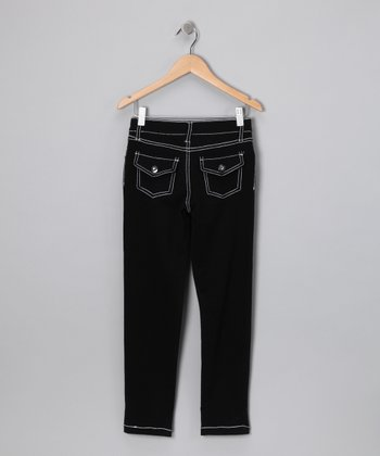 Black Skinny Pants - Girls