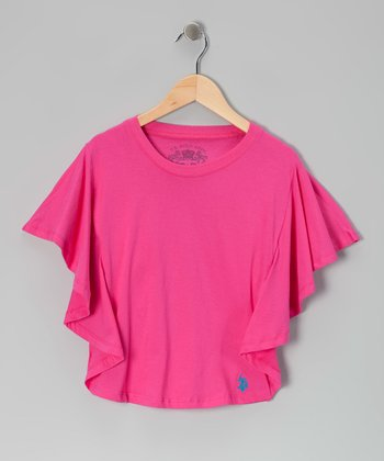 Pink Dolman Top - Girls